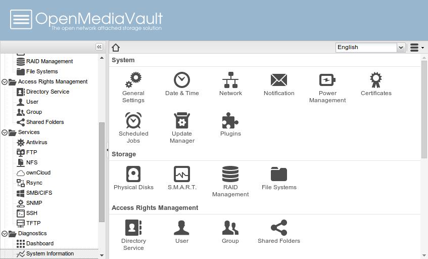Доступен дистрибутив для создания сетевых хранилищ OpenMediaVault 5