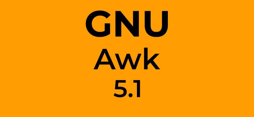 GNU Awk 5.1