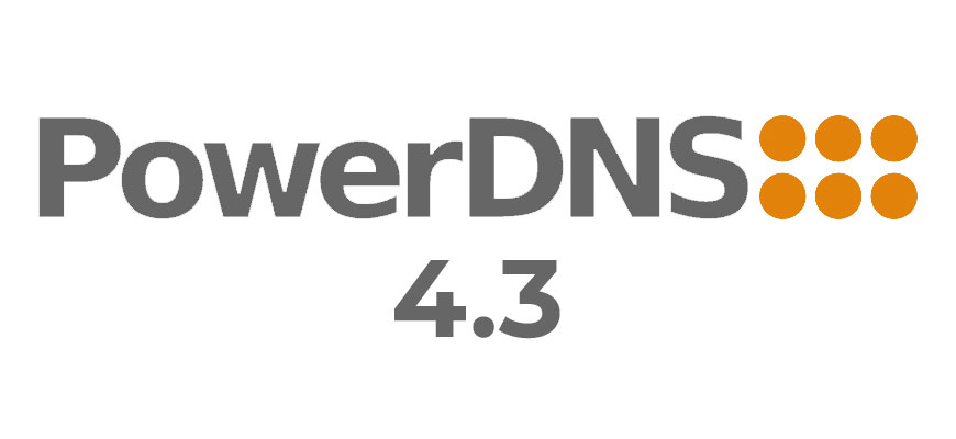 PowerDNS Authoritative Server 4.3