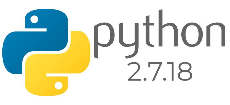 Python 2.7.18