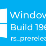 Windows 10 Insider Preview Build 19608