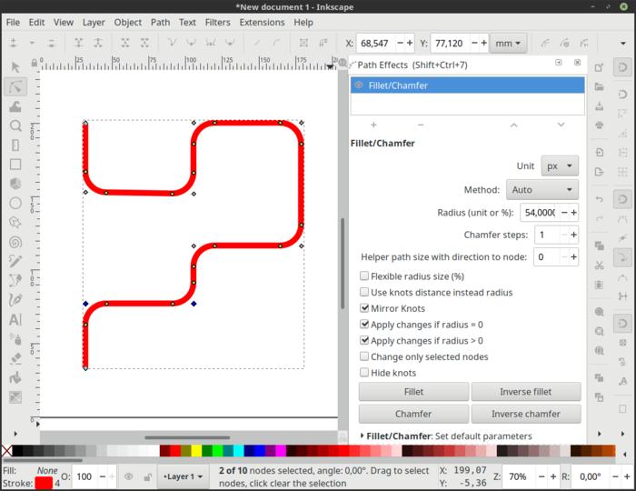 Выпуск редактора векторной графики Inkscape 1.0