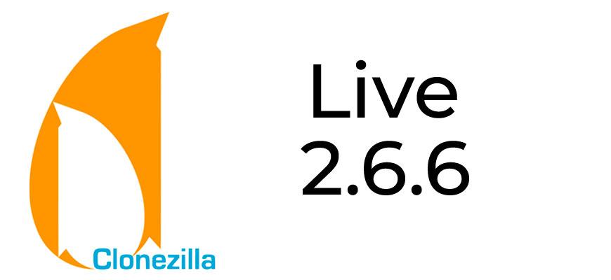 Clonezilla Live 2.6.6