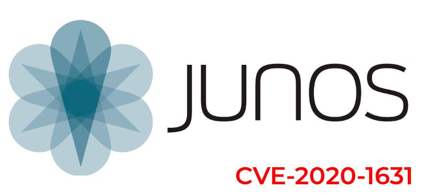 Junos OS CVE-2020-1631