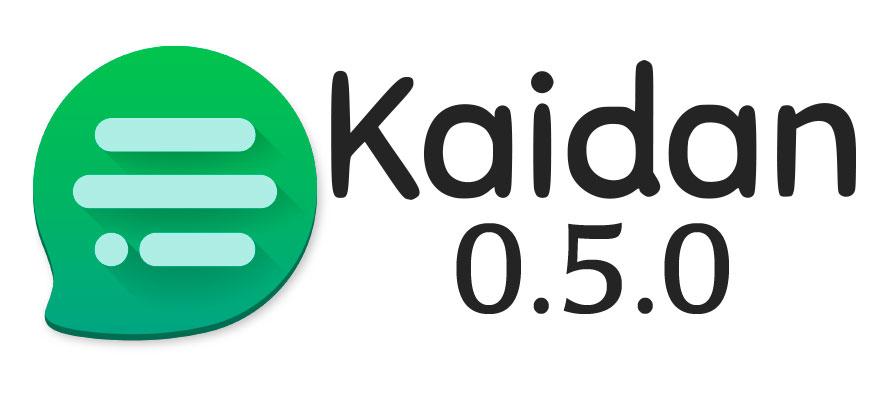 Kaidan 0.5.0
