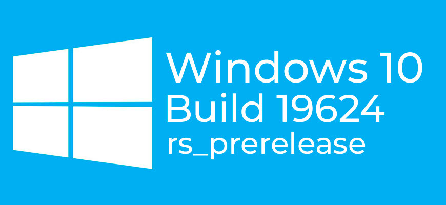 Windows 10 Insider Preview Build 19624