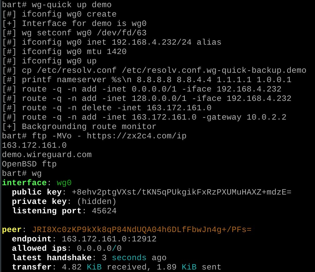 Анонсирована внутриядерная реализация WireGuard для OpenBSD