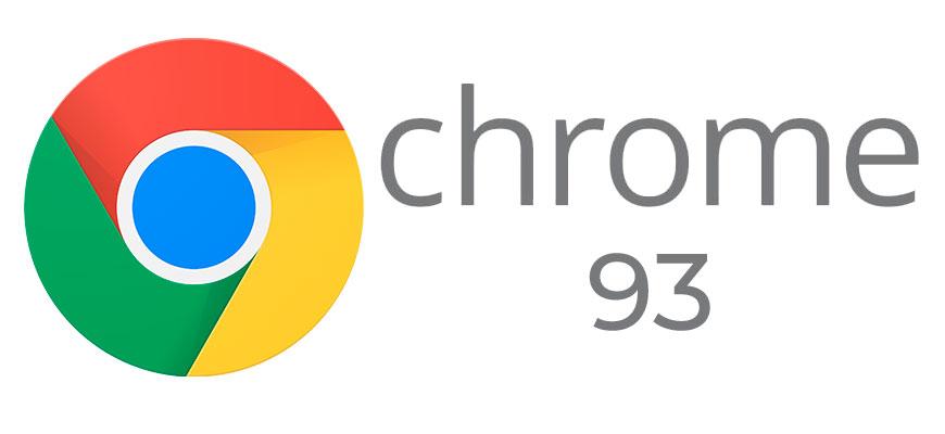 Релиз Google Chrome 93