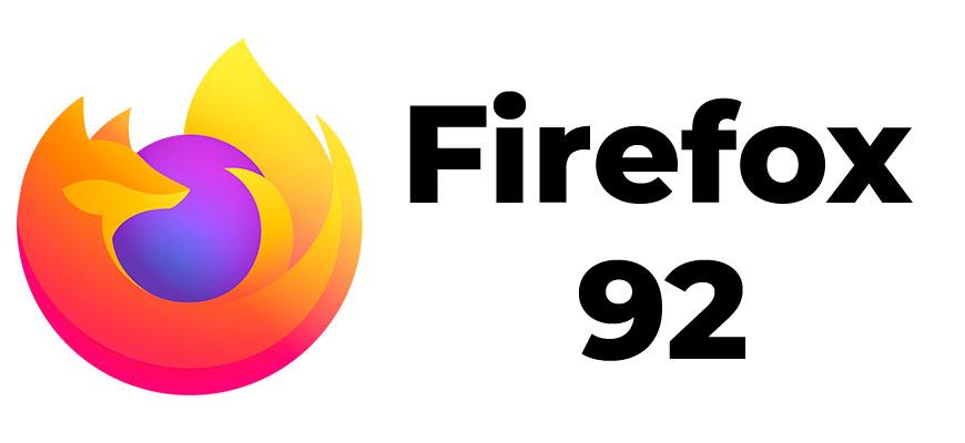 Релиз Mozilla Firefox 92