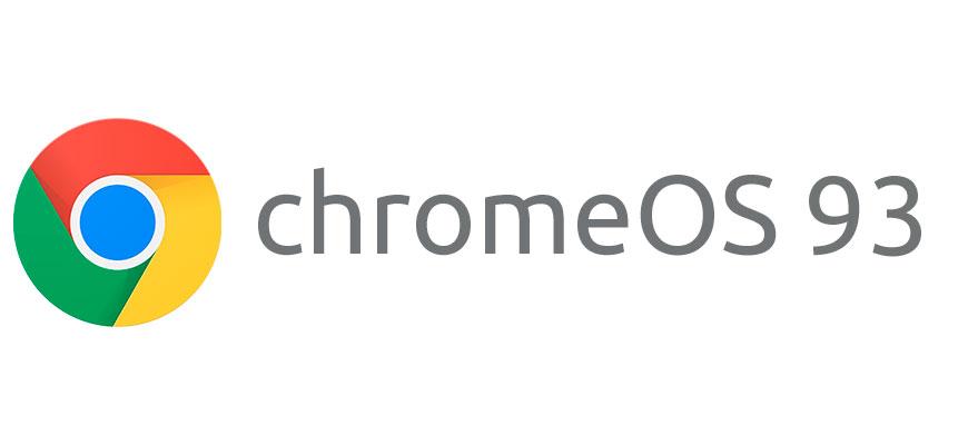 Выпуск Chrome OS 93