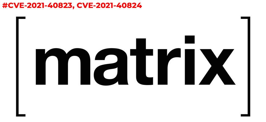 Уязвимости в клиентах Matrix, позволяющие раскрыть ключи сквозного шифрования