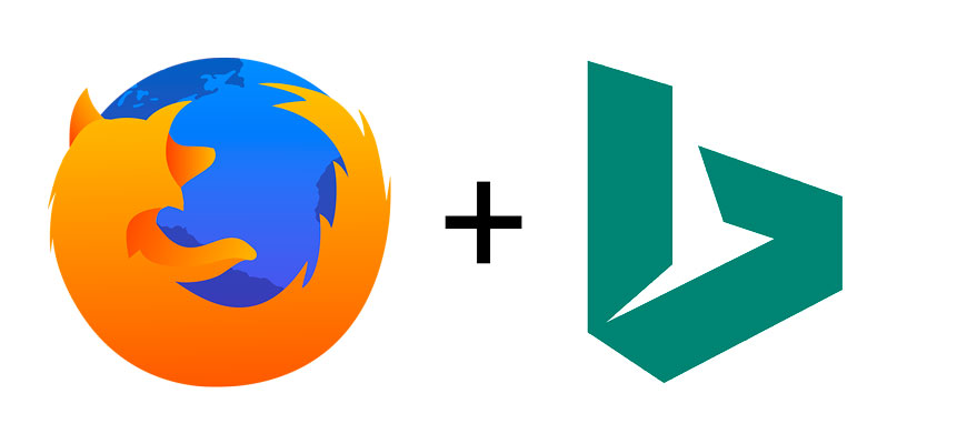 В Firefox проводится эксперимент по использованию поисковой системы Bing по умолчанию