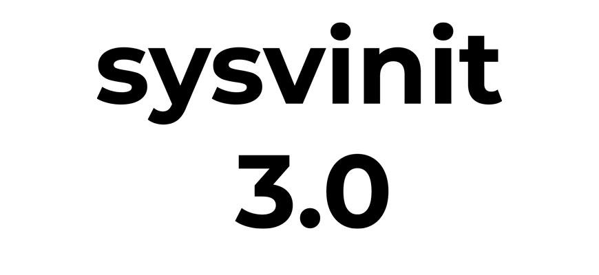 Выпуск системы инициализации sysvinit 3.0