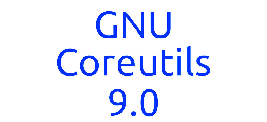 Выпуск набора базовых системных утилит GNU Coreutils 9.0