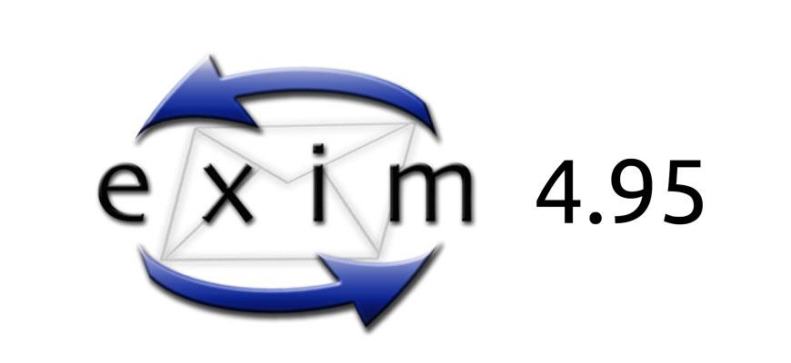 Новая версия почтового сервера Exim 4.95